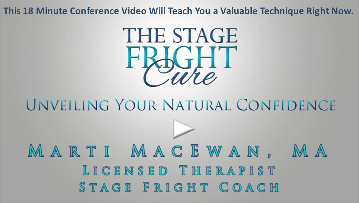 Watch this 18 Minute Conference Video and Learn a Valuable Technique Right Now
